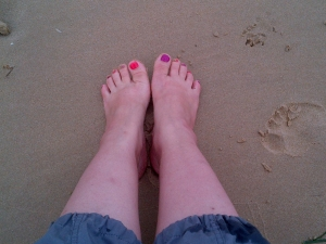 Happy Feet - On Holiday! No blisters here