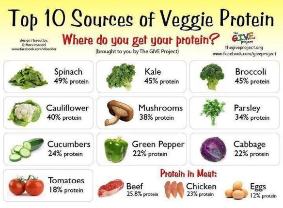 Protein-in-vegetables